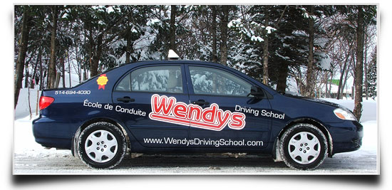 Winter driving with Wendys Driving School